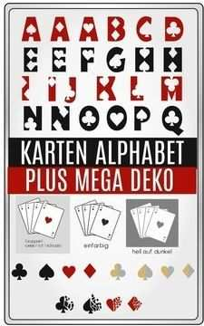 Spielkarten Abc Und Karten Mega Deko Kombi Paket Spielkarten