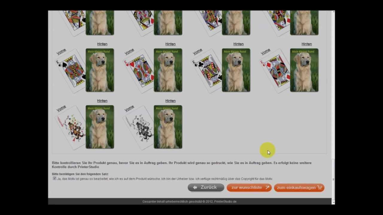 Wie Spielkarten Selber Machen Youtube