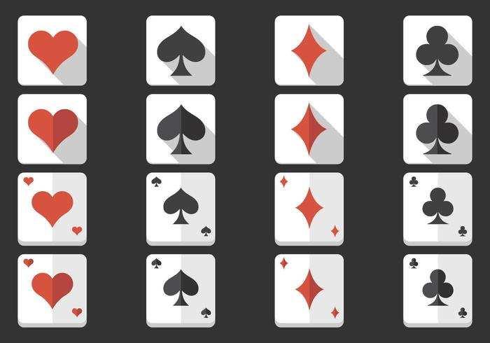 Spielkarten Symbol Vector Pack Download Kostenlos Vector