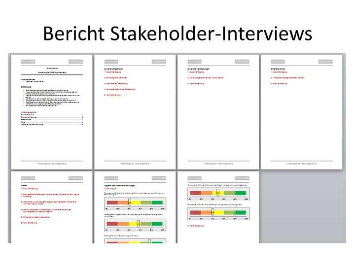 Projekt Stakeholder Management Projekmanagement24