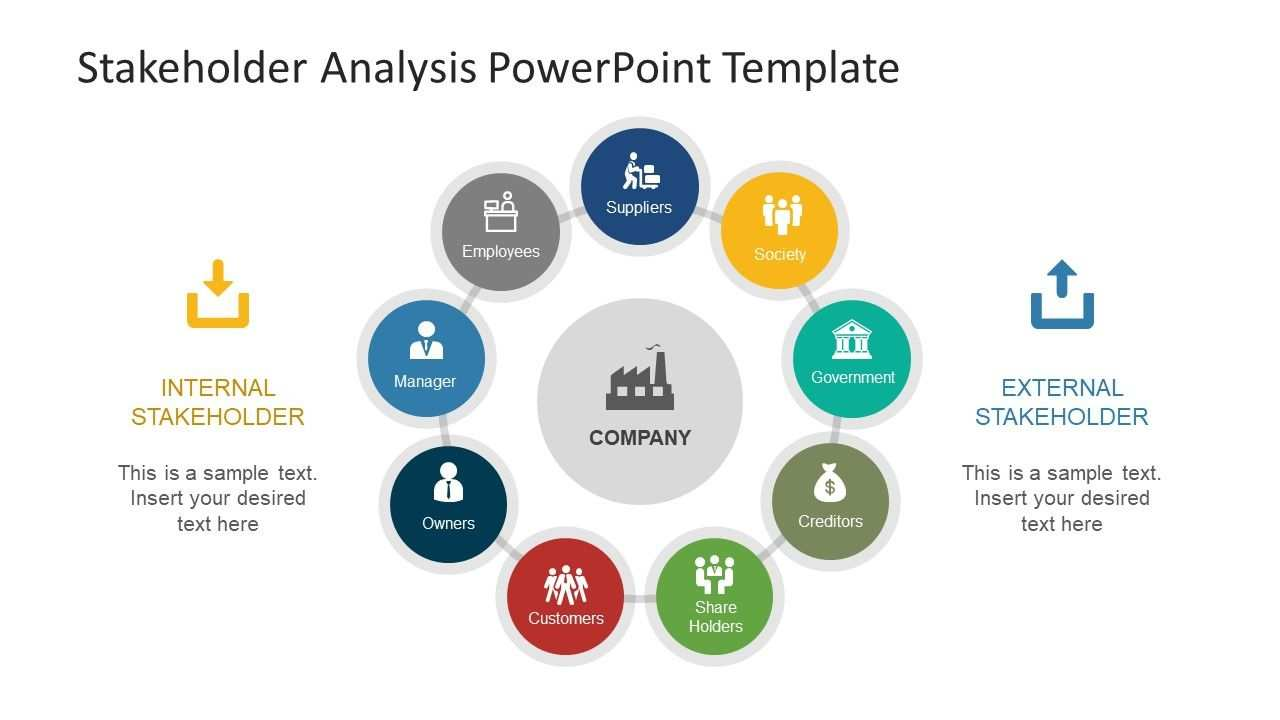 Stakeholder Analysis Powerpoint Template Stakeholder Analysis