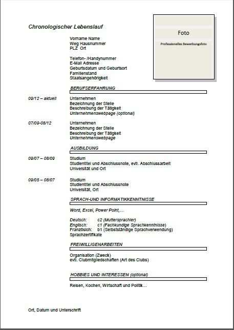 Inspiring Standard Cv Template Download Picture Job Resume Template Resume Template Free Downloadable Resume Template