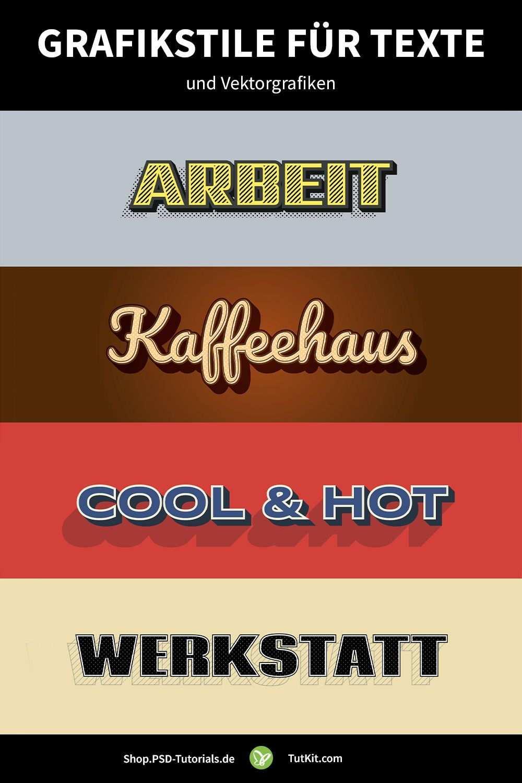 Illustrator Grafikstile Zum Download Fur Illustrative Texte Und