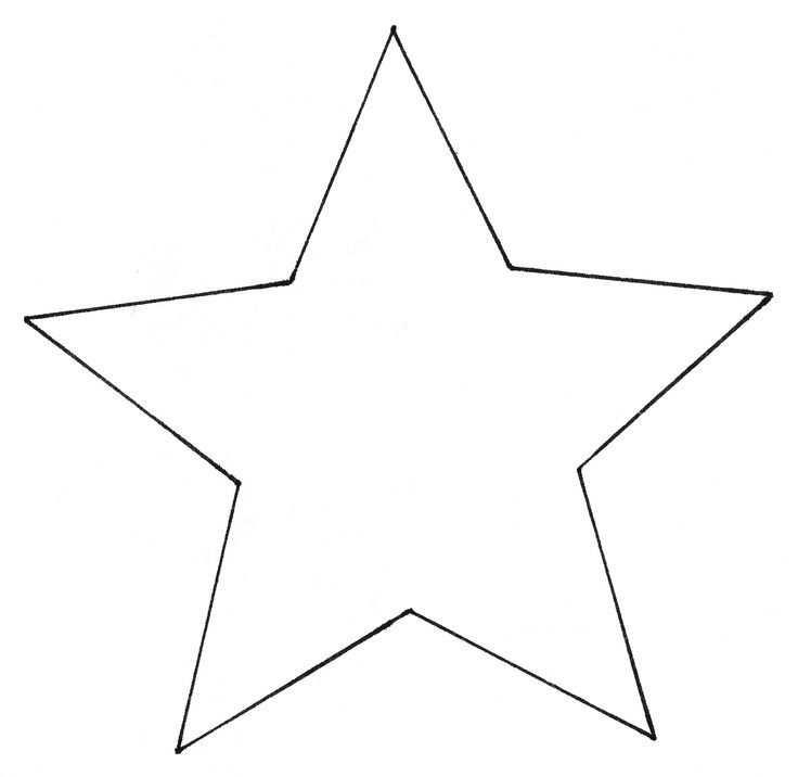 Vorlage Stern 5 Zacken Sterne Basteln Mit Kindern Sterne