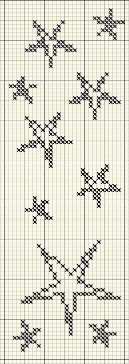 Stars Cross Stitching Sterne Kreuzstich Mit Bildern Sticken