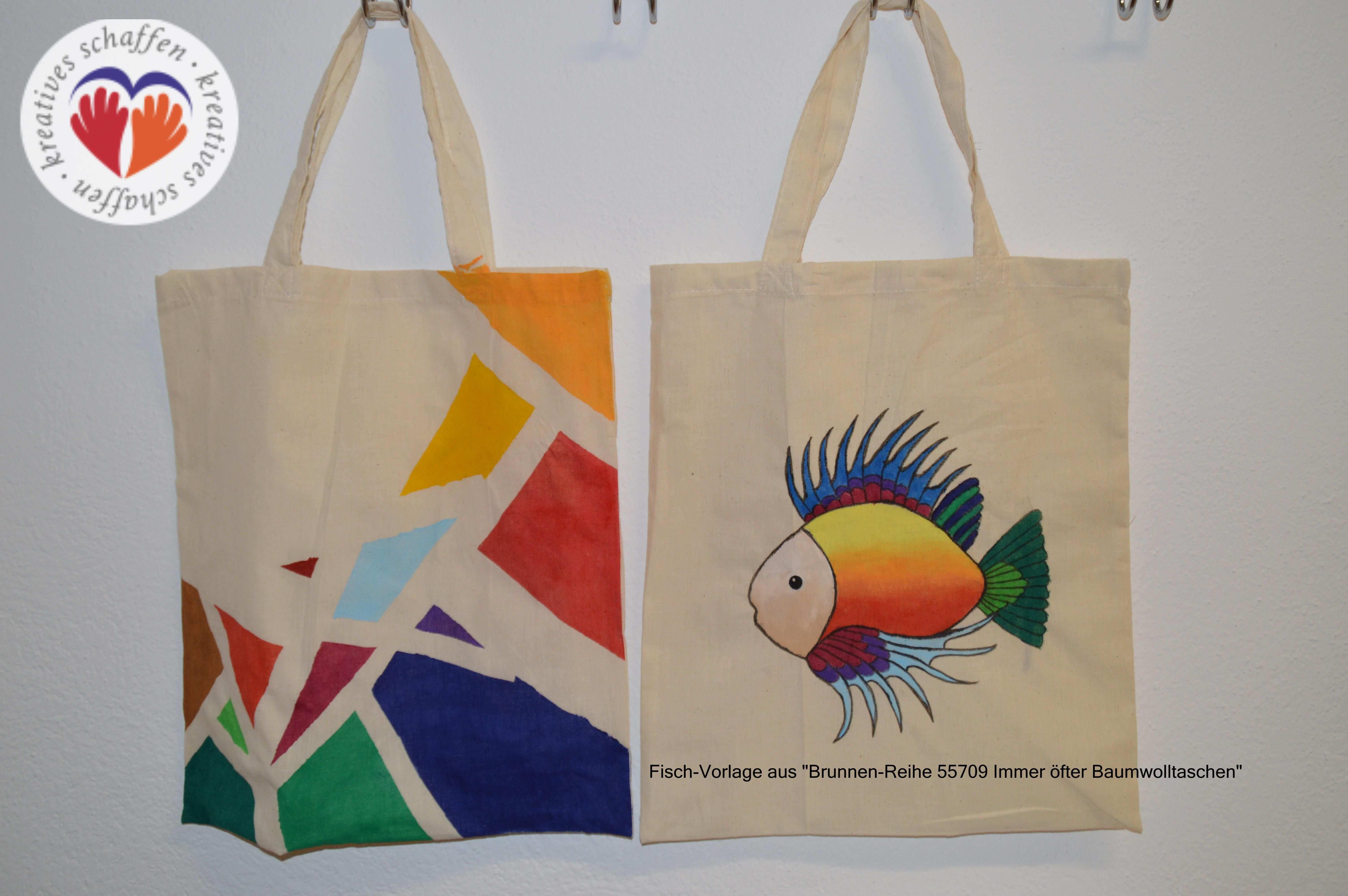 Stofftaschen Bemalen Kreativgraz Stofftaschen Beutel Taschen