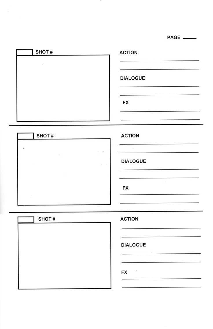 15 Examples Of Storyboard Templates Word Ppt And Pdf Format