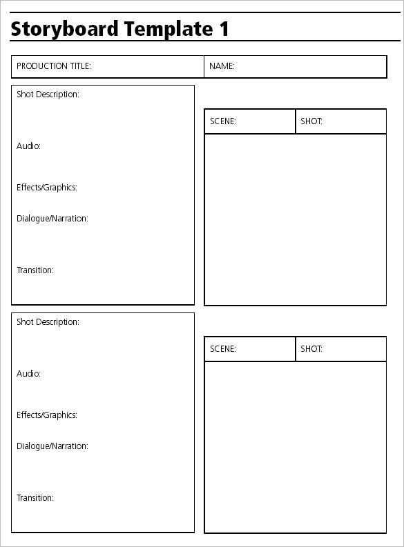 Video Storyboard Template Storyboard Vorlage Drehbuch Vorlagen