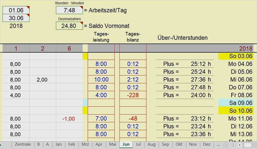 Vorlage Excel Zeiterfassung 19 Hubsch Jene Konnen Adaptieren In Ms