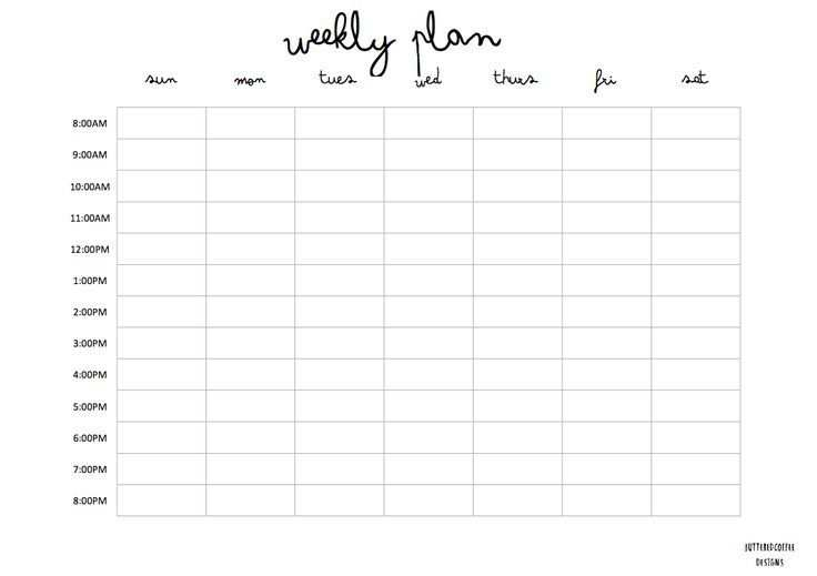 Printable The First Of My Promised Printables For Your Planning