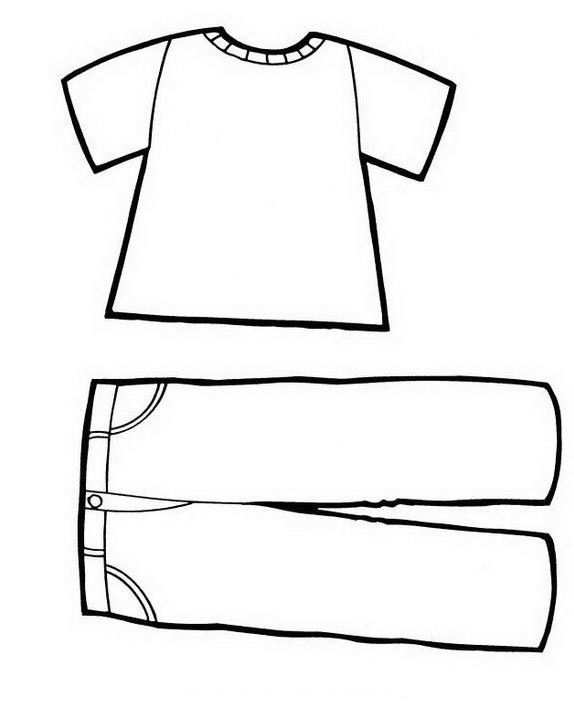 Clothing Coloring Pages 49 Clothing Templates Coloring Pages