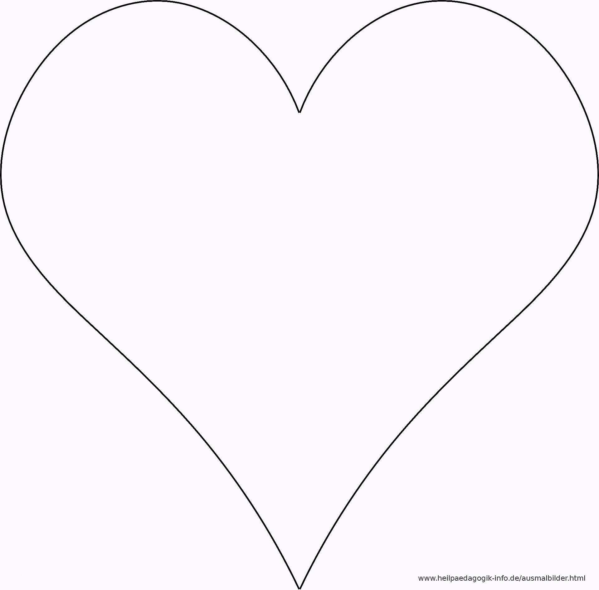 Unique Herz Vorlage Zum Ausdrucken Herz Vorlage Vorlagen Herz