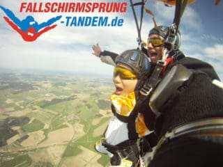 Gutschein Tandemsprung Als Geschenk Mit Pfiff Fallschirmsprung