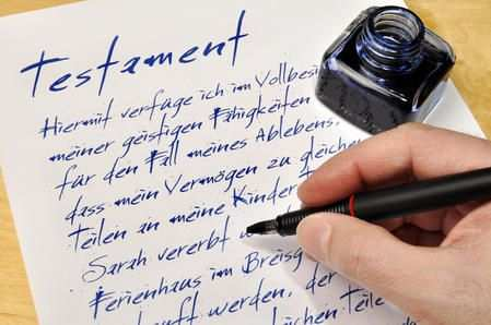 Ein Testament Schreiben Das Mussen Sie Beachten Spickzettel