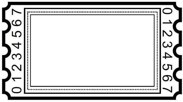Gemischte Tickets Ticket Vorlage Karte Gutschein Gutschein Vorlage