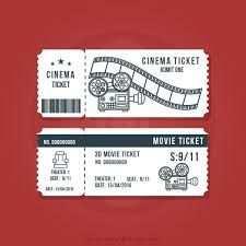 Resultado De Imagen Para Boletos De Cine Para Invitacion Boleto