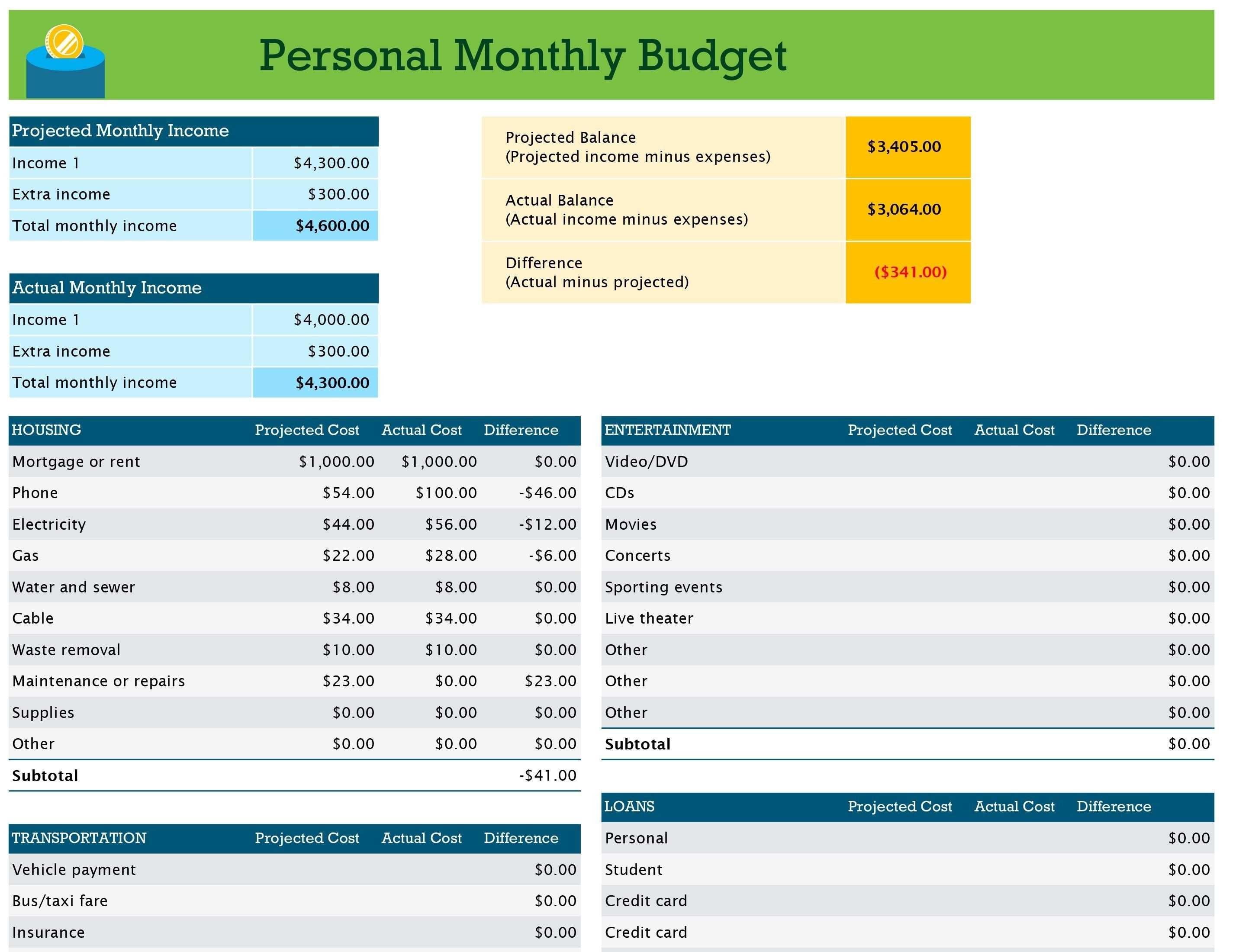 Unique Monthly Bill Organizer Template Excel Xls Xlsformat