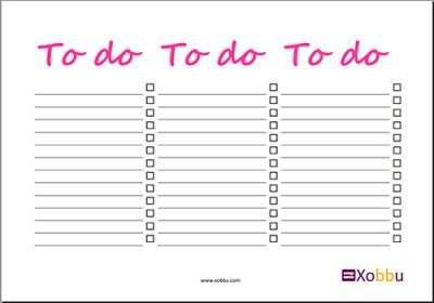 To Do Liste To Do Liste Vorlage To Do Liste Vorlagen