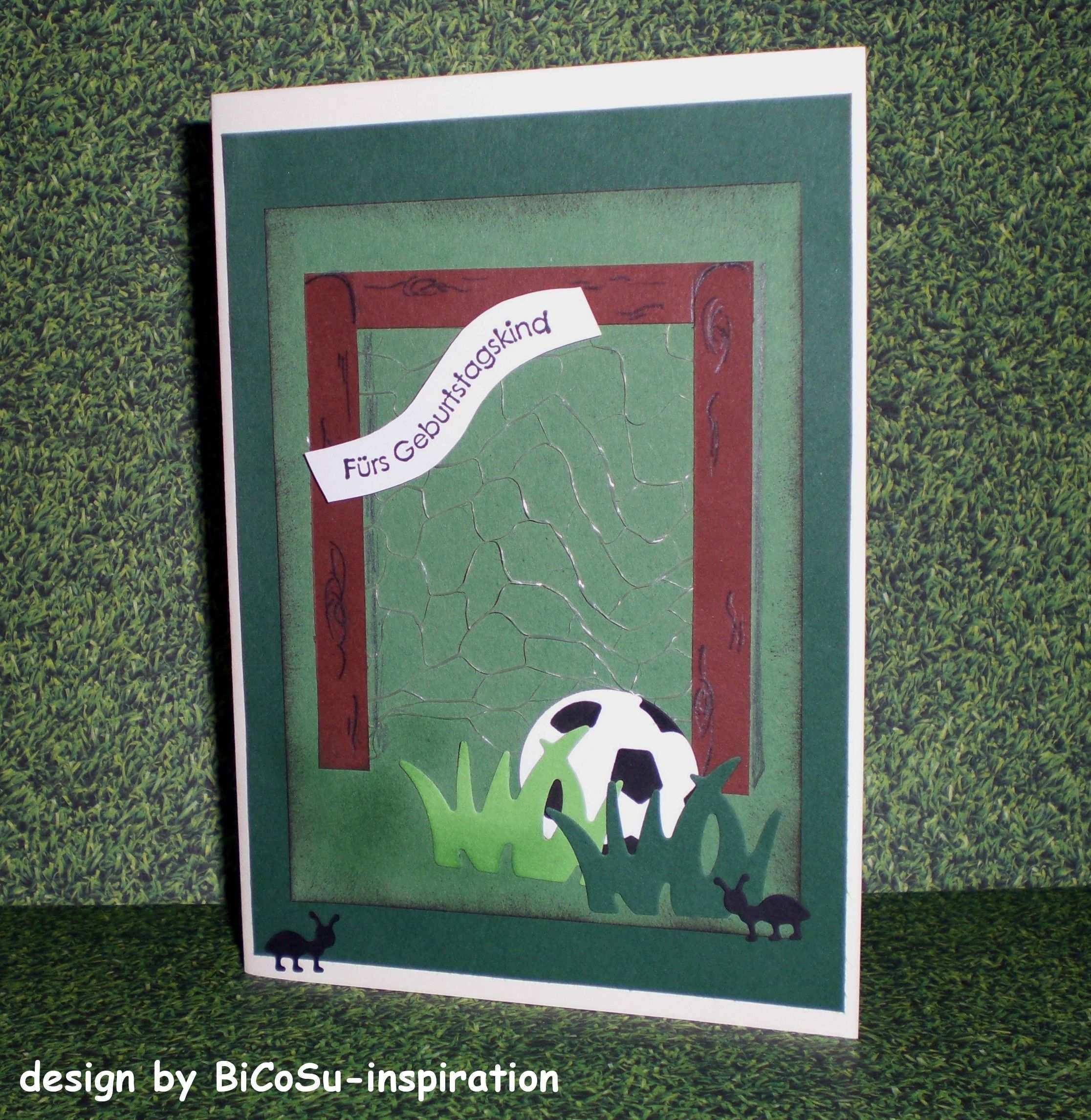Fussball Karte Geburtstagskarte Football Birthday Cards
