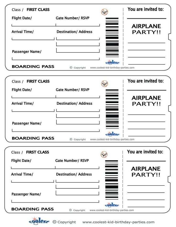 Pin Von Galina Frank Auf Basteln Bordkarte Einladung Flugzeugs