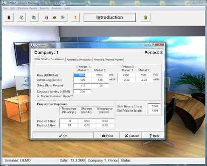 Topsim General Management Software