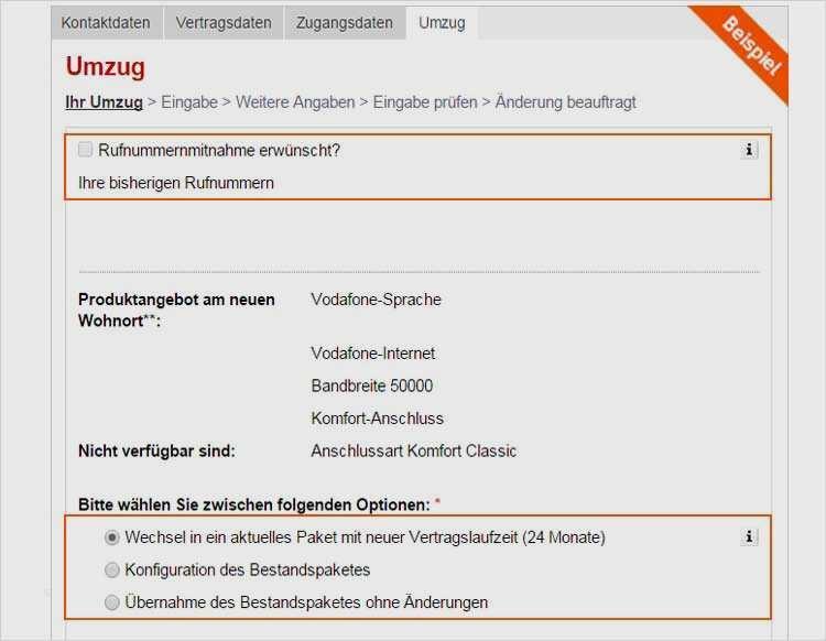 Kundigung Internet Wegen Umzug Vodafone لم يسبق له مثيل الصور