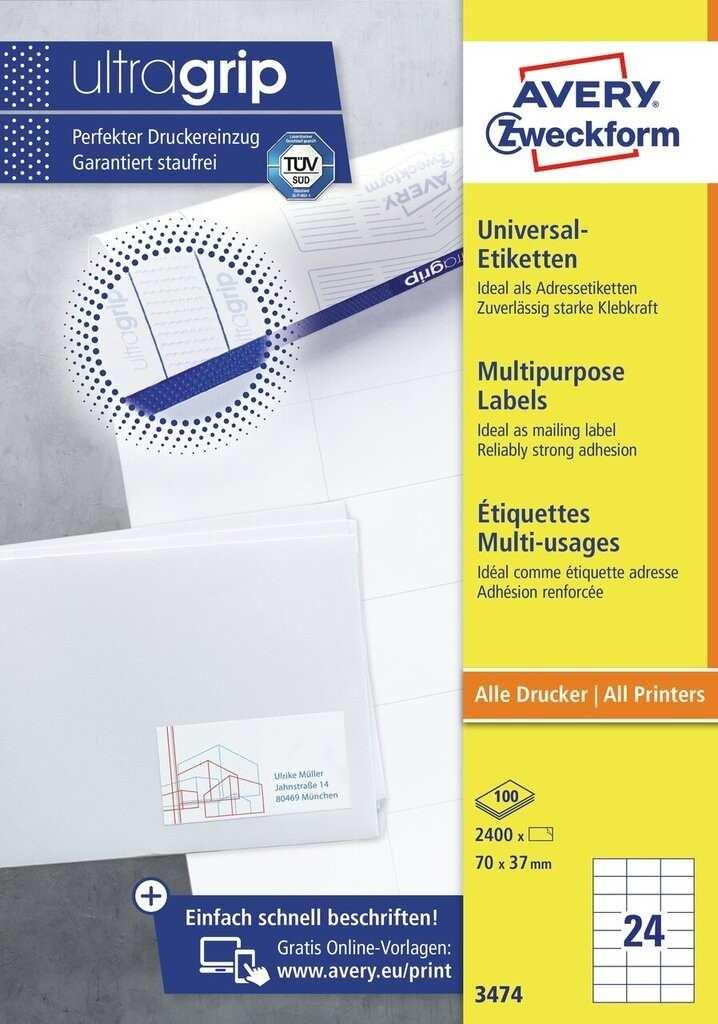 Universal Etiketten 3474 Avery Zweckform