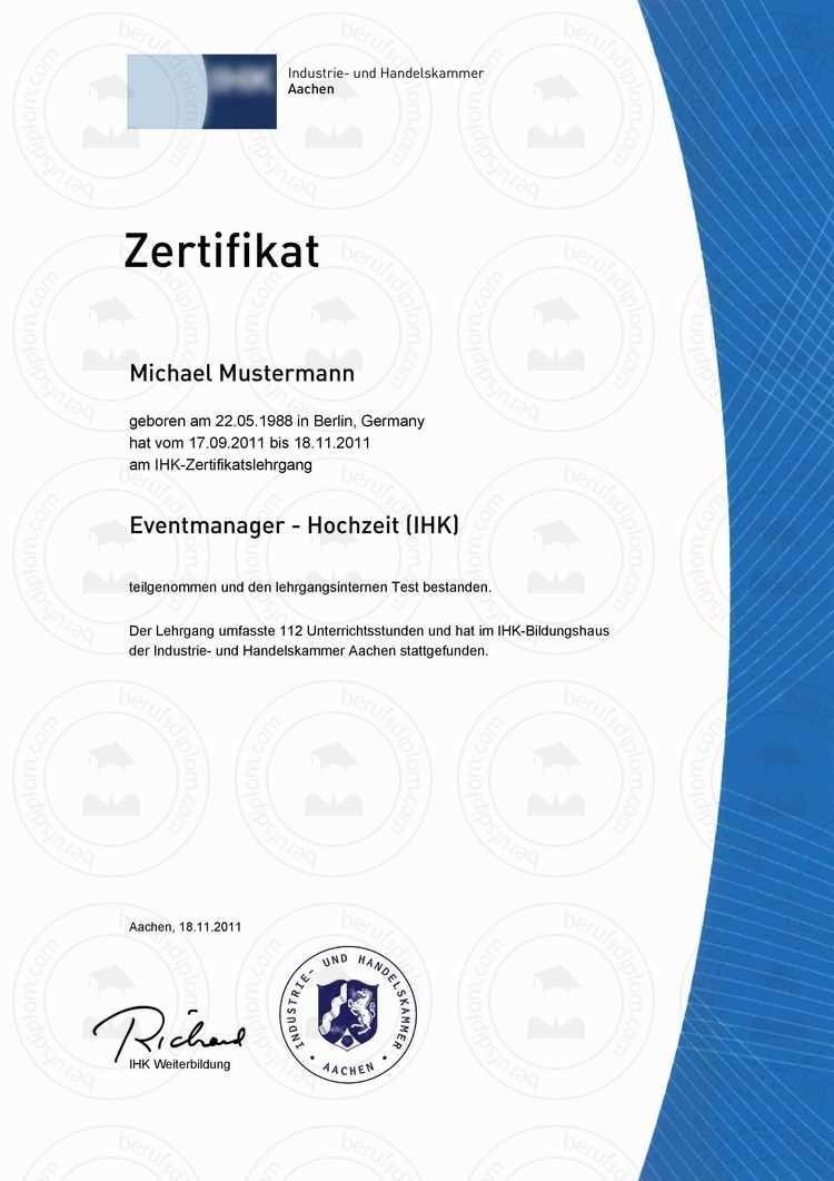 Fortbildungszertifikat Kaufen Zertifikat Vorlage Zertifikat
