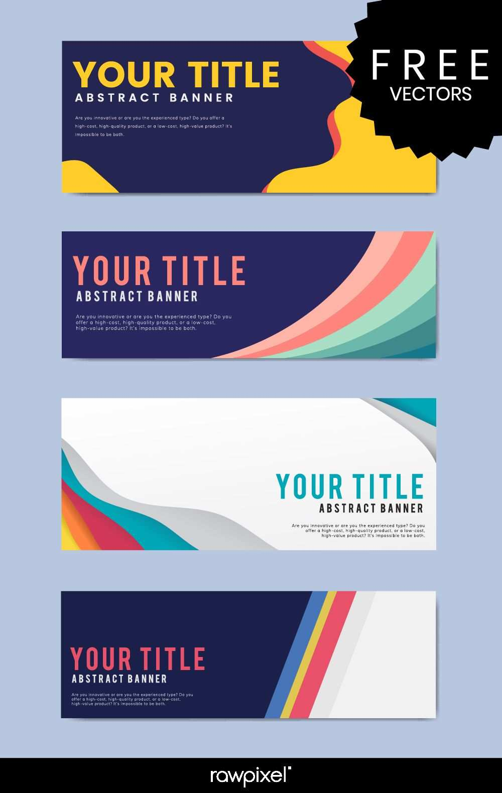 Download Free Modern Business Banner Templates At Rawpixel Com
