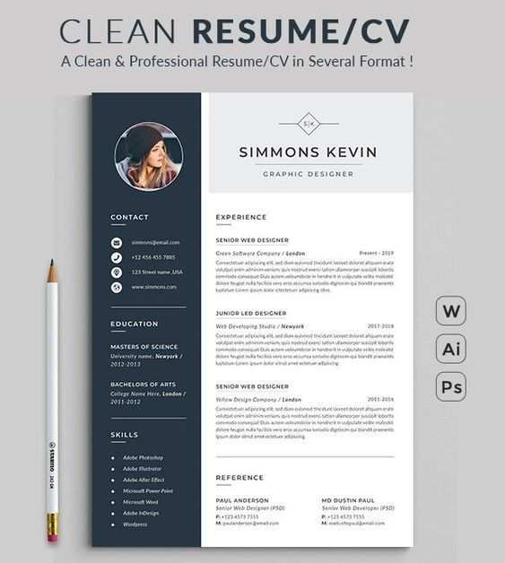Resume Design Template Modern Resume Template Word Free Download