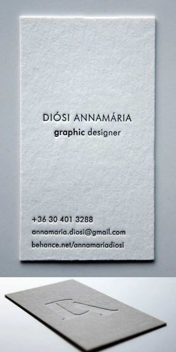 Pin Von Hans Jurgen Seifert Auf Letterpress Cards Visitenkarten