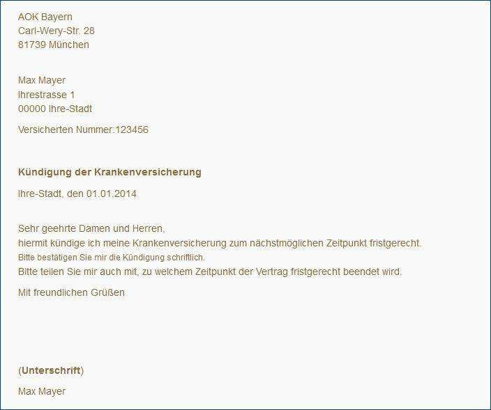 Muster Kndigungsschreiben Arbeitsvertrag Kndigung