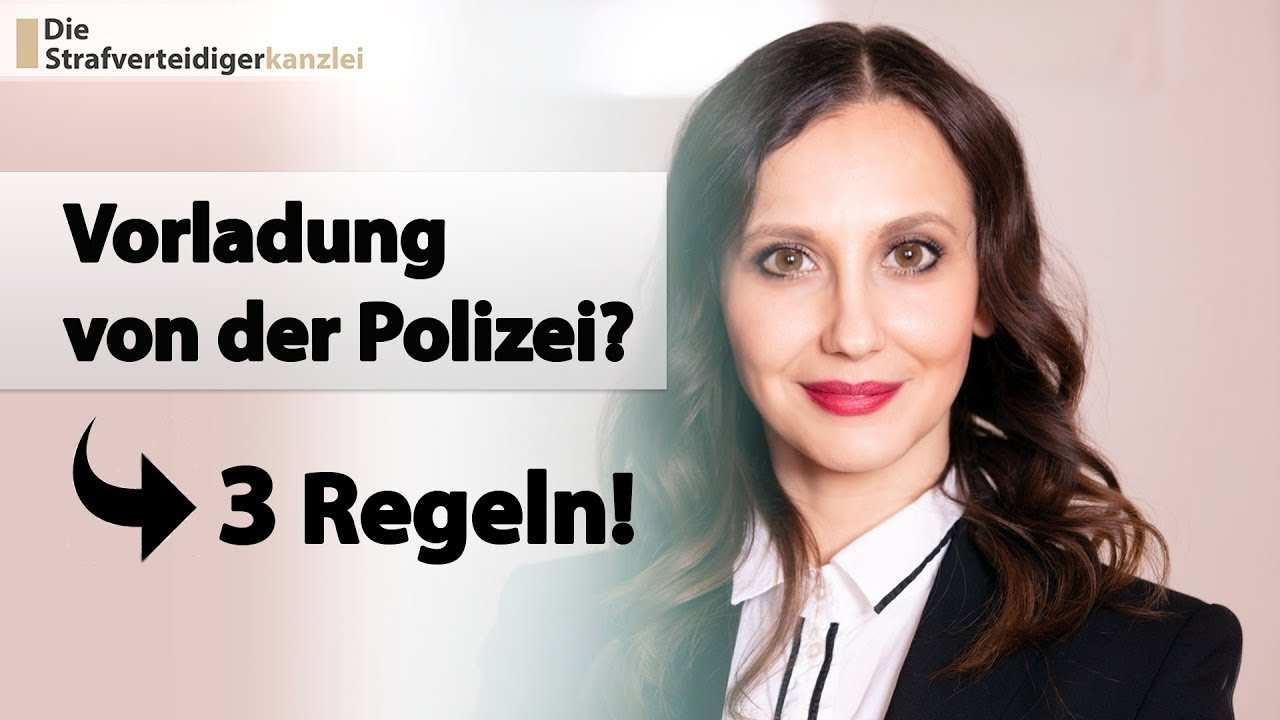 Vorladung Von Der Polizei Zur Beschuldigtenvernehmung Die 3