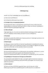 Aufhebungsvertrag Muster Infos Arbeitsrecht 2020