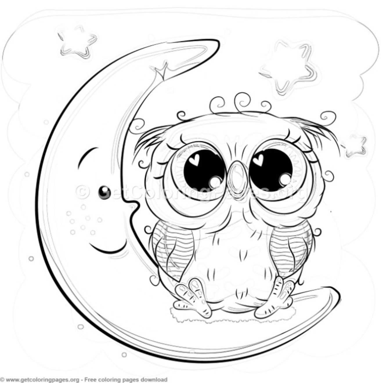 23 Cute Owl Coloring Pages Getcoloringpages Org Owl Coloring Pages Cute Owl Drawing Owl Drawing Simple