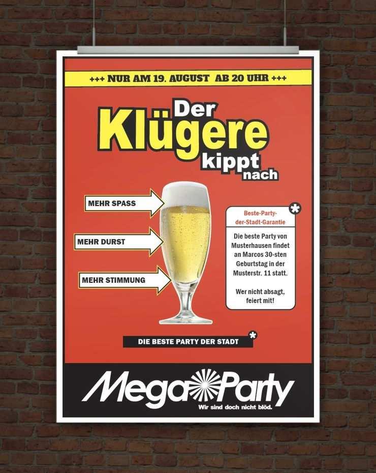 Witzige Einladung Der Klugere Kippt Nach Einladung Geburtstag