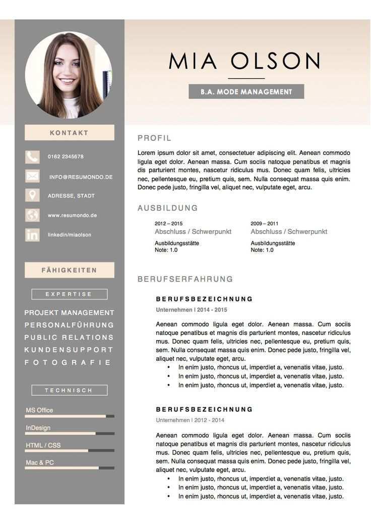 What Is A Resume Lebenslauf Design Bewerbung Lebenslauf