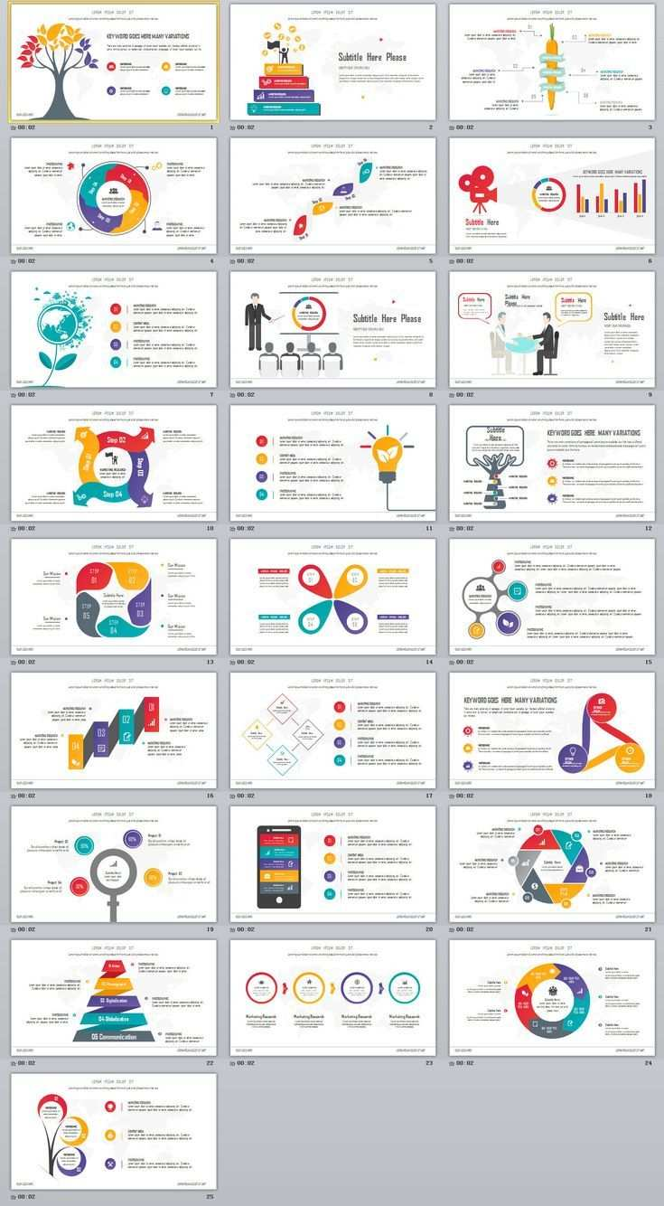 Business Infographic 25 Creative Infographic Powerpoint