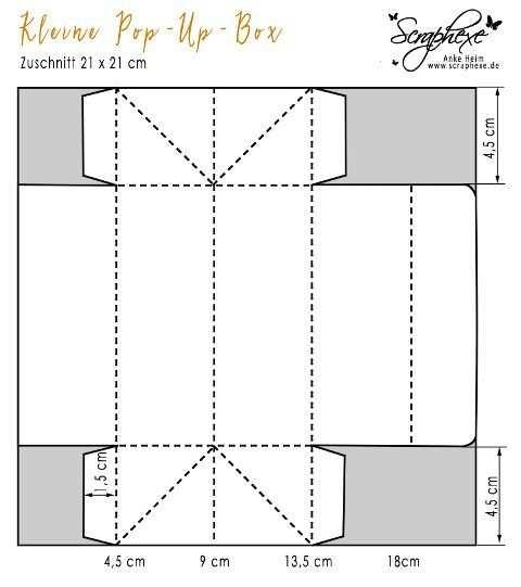Herbstbox Mit Anleitung Schachteln Falten Anleitung Karten