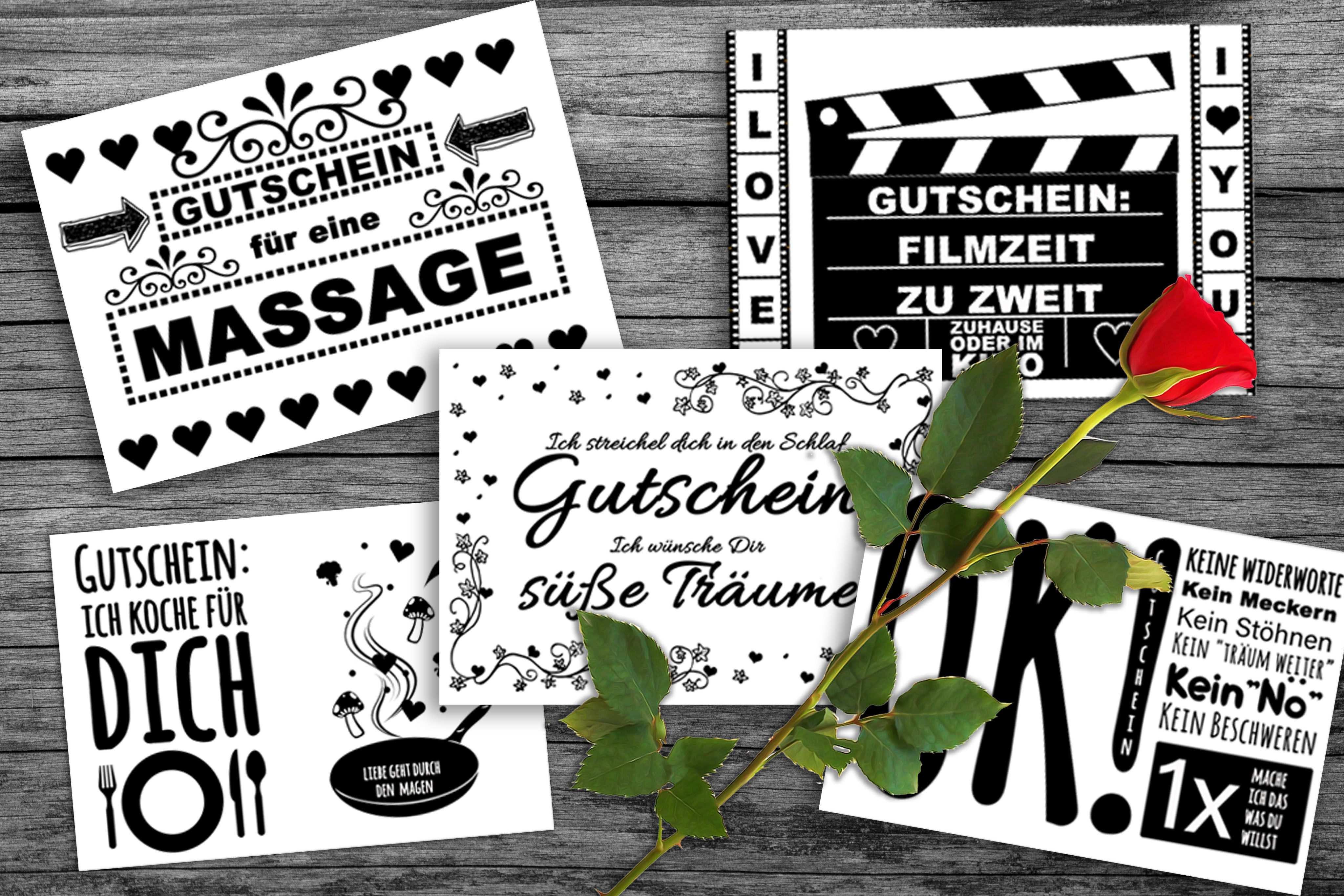 Valentinstag Gutscheine Das Perfekte Geschenk Als Download In