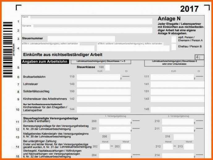Neueste Steuererklarung 2016 Vorlage In 2020 Mit Bildern
