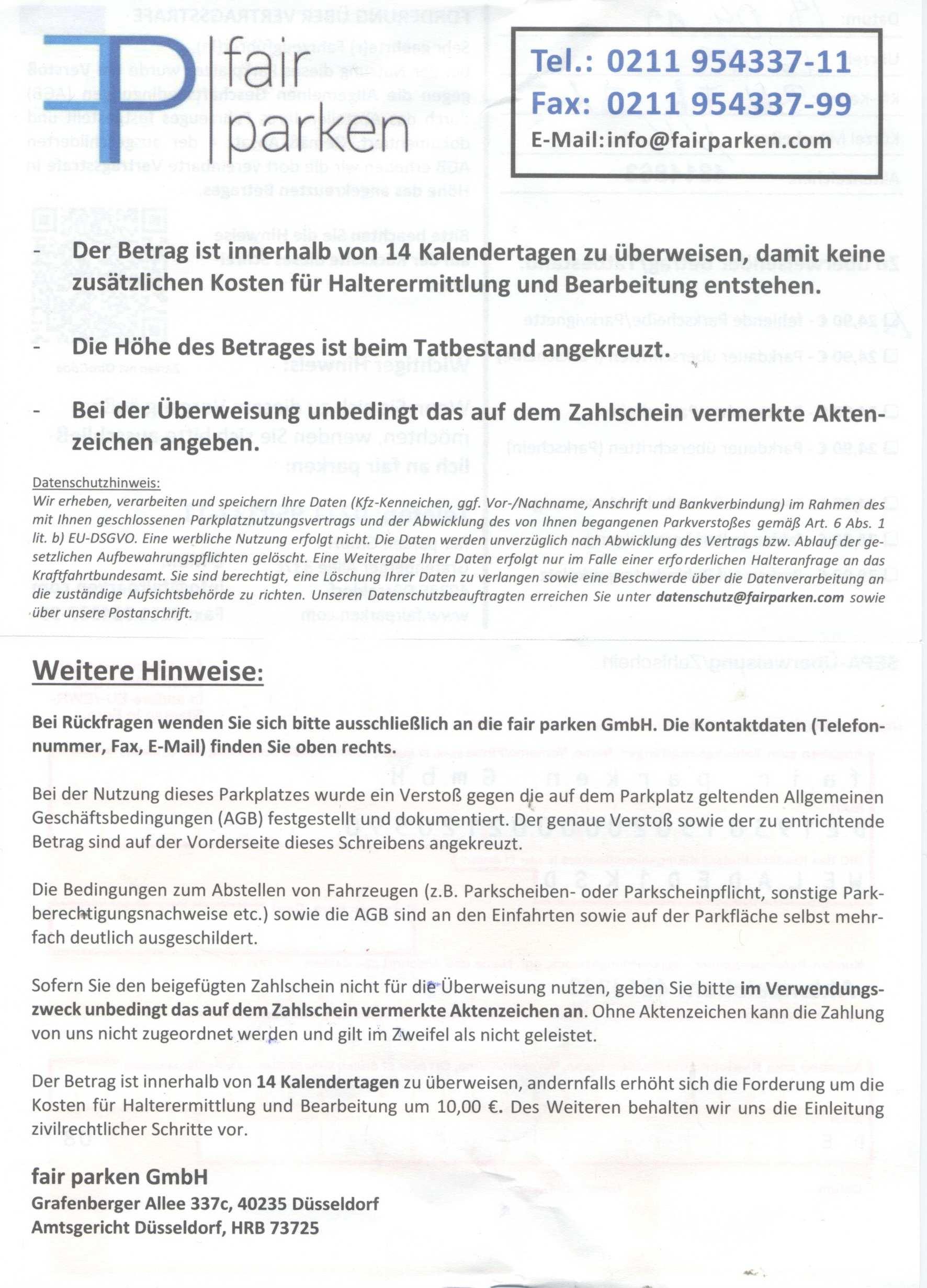 Bonndirekt Com Parken Bei Edeka Fair Parken Oder Unfaire Abzocke