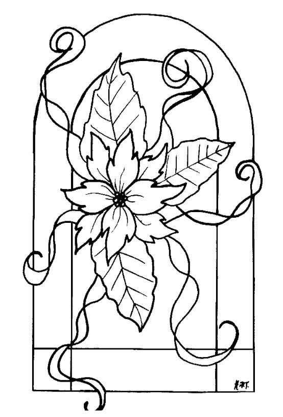 Window Color Vorlagen Blumen Malvorlagen Vorlagen Window Color