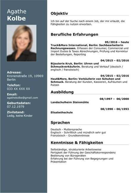 Awesome Cv Template Styles Picture Di 2020