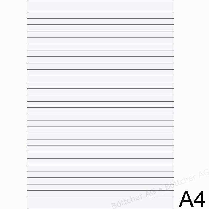 Druckvorlage Din A4 Liniertes Papier 7 Mm Stilkunst De