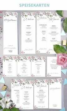 Rose 193 Word Vorlagen Zum Ausdrucken Diy Hochzeit Planen