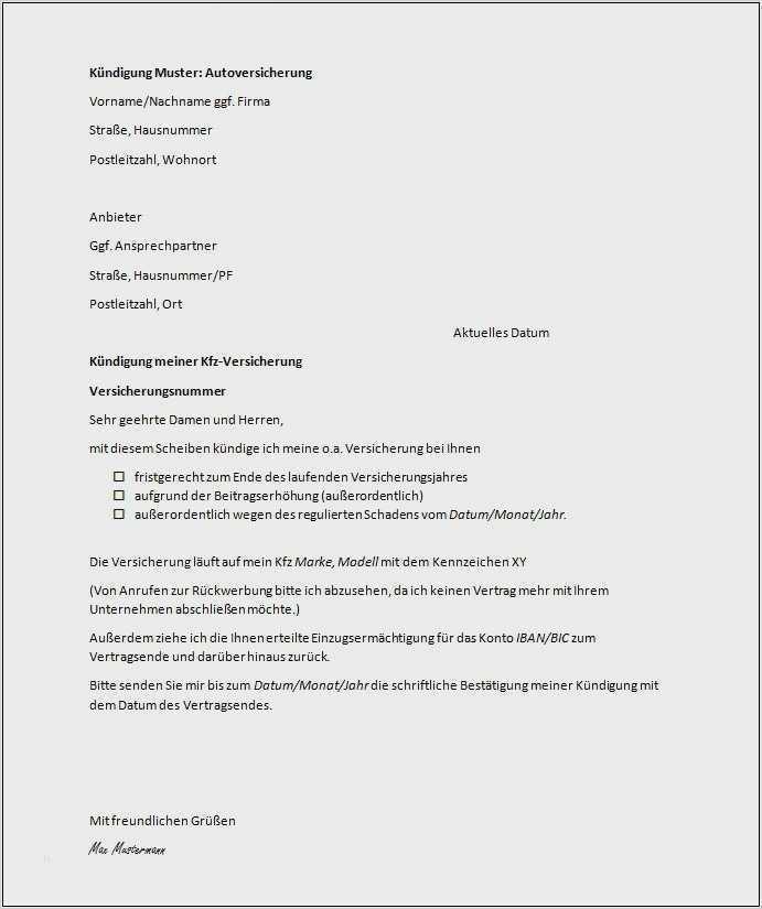 Suss Kundigung Mietvertrag Vorlage Word Ebendiese Konnen Adaptieren