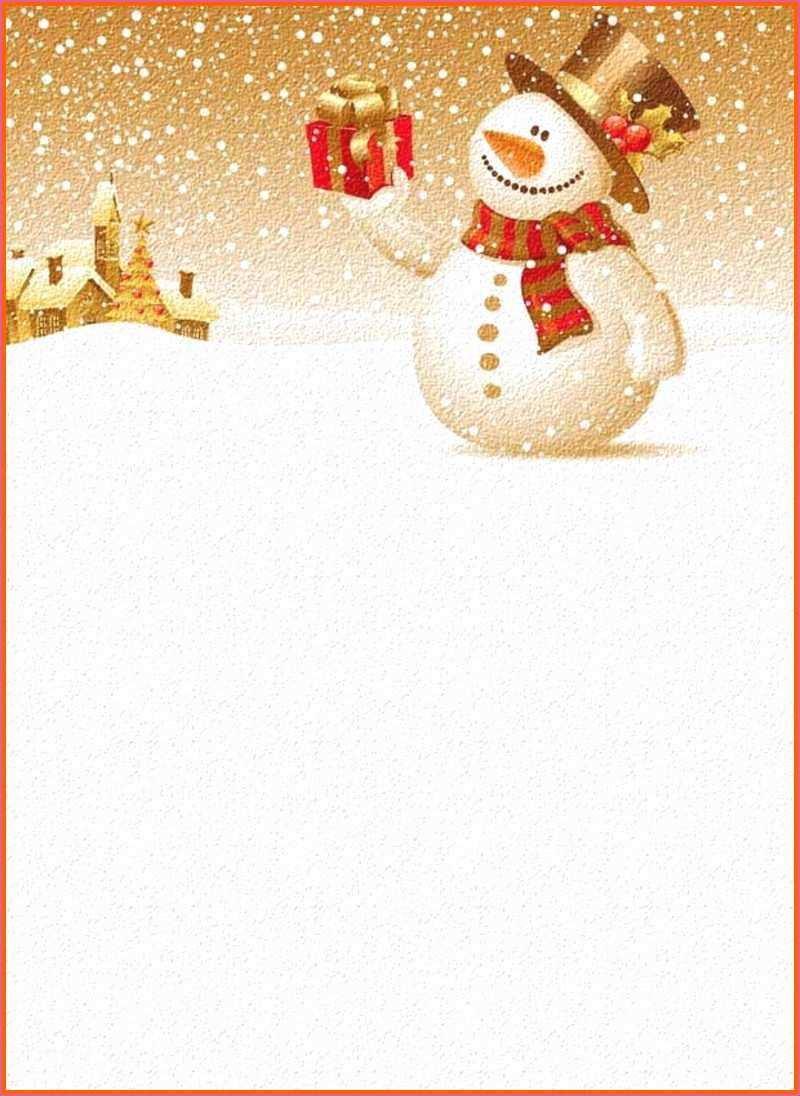 Word Vorlage Weihnachten Briefpapier Briefpapier Weihnachten