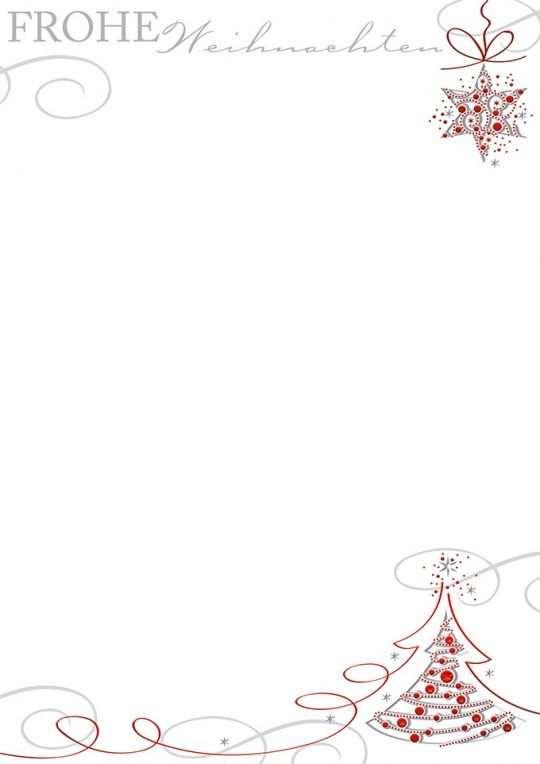 Komposition In Rot Mit Bildern Briefpapier Zum Ausdrucken