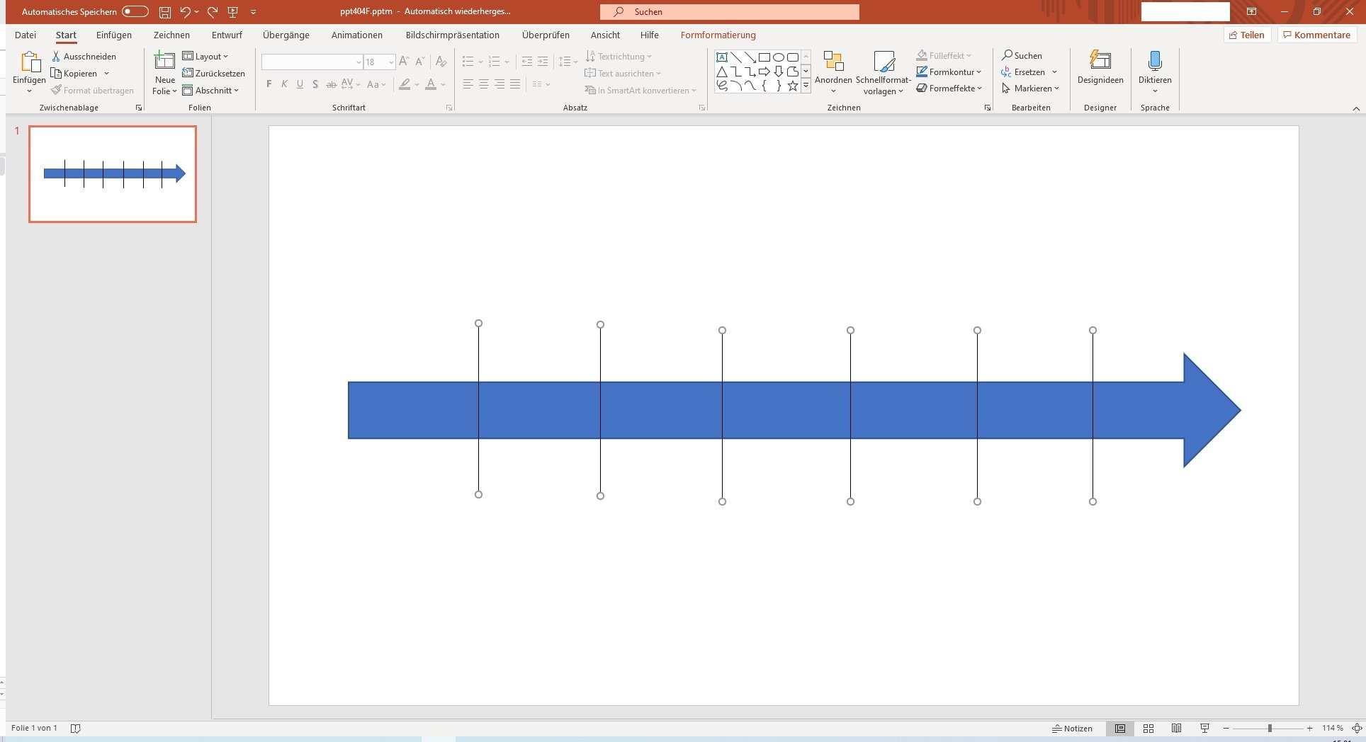 Zeitstrahl In Powerpoint Erstellen Anleitung Vorlage Zum Download